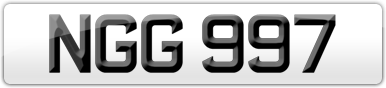 Plate image for registration plate NGG997