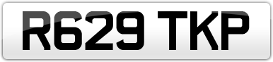 Plate image for registration plate R629TKP