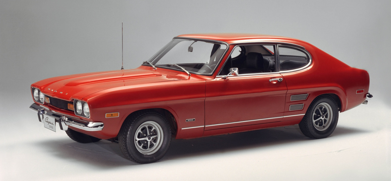 ford capri in red
