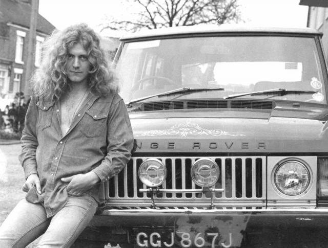 Land Rover Range Owned by Led Zeppelin front man Robert Plant in the early 1970's