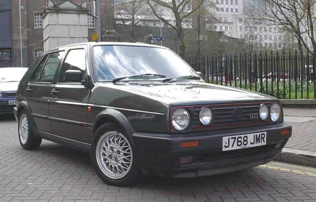 Volkswagen Golf Mk 2, GTI 16v, Oak Green