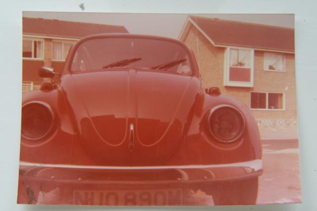 Volkswagen Beetle Bought from VW dealer at Newton Abbot August 1973