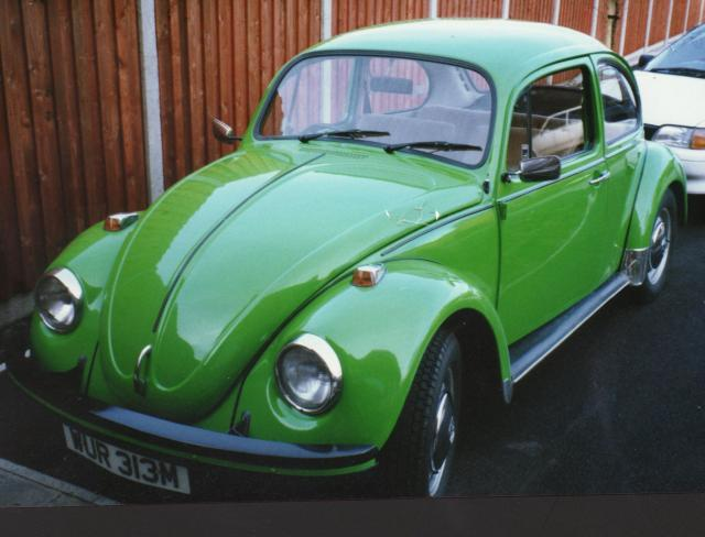 Volkswagen Beetle 1.2? Bright Green