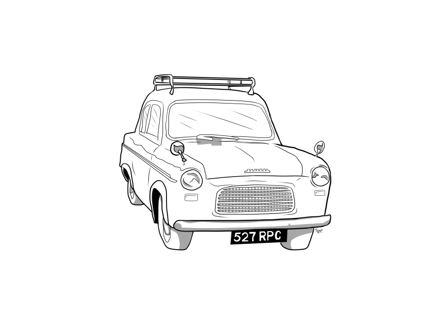 Drawing of 527RPC