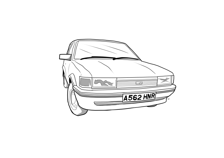 Drawing of A562HNR