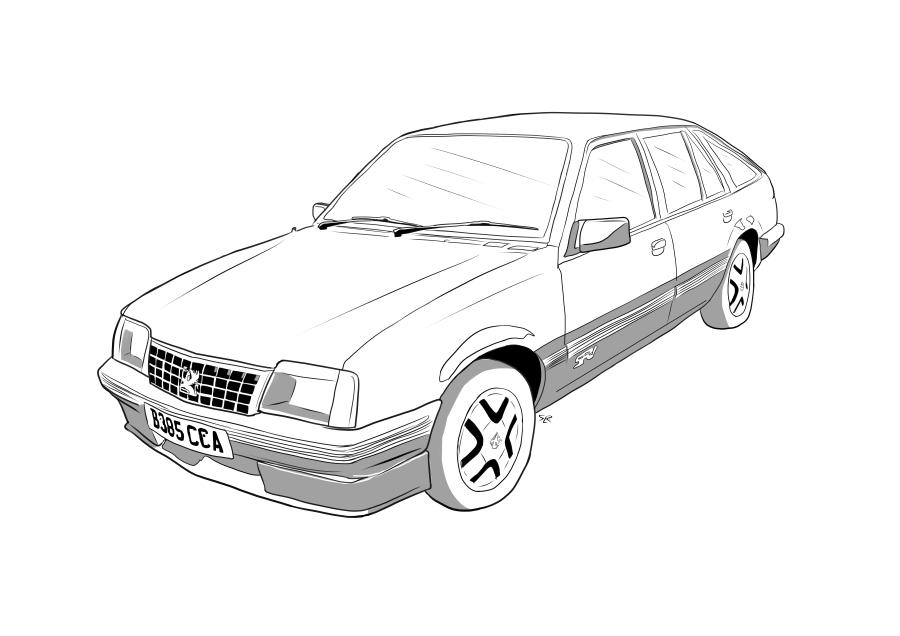 Drawing of B385CCA