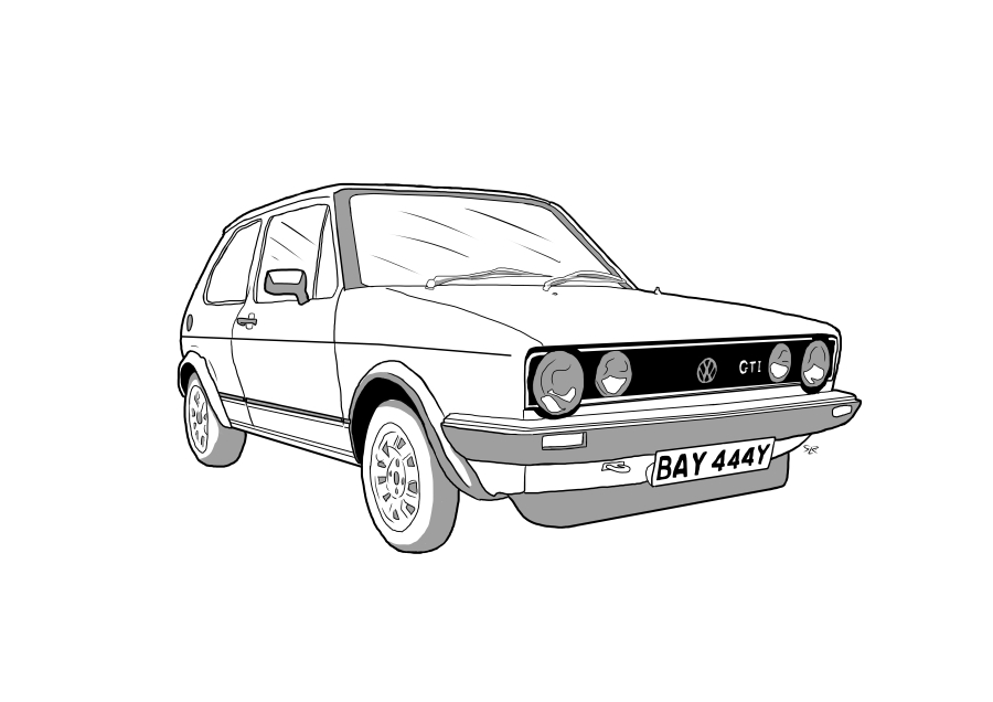 Drawing of BAY444Y