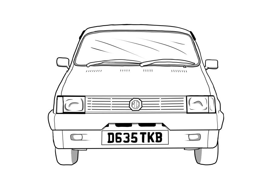 Drawing of D635TKB