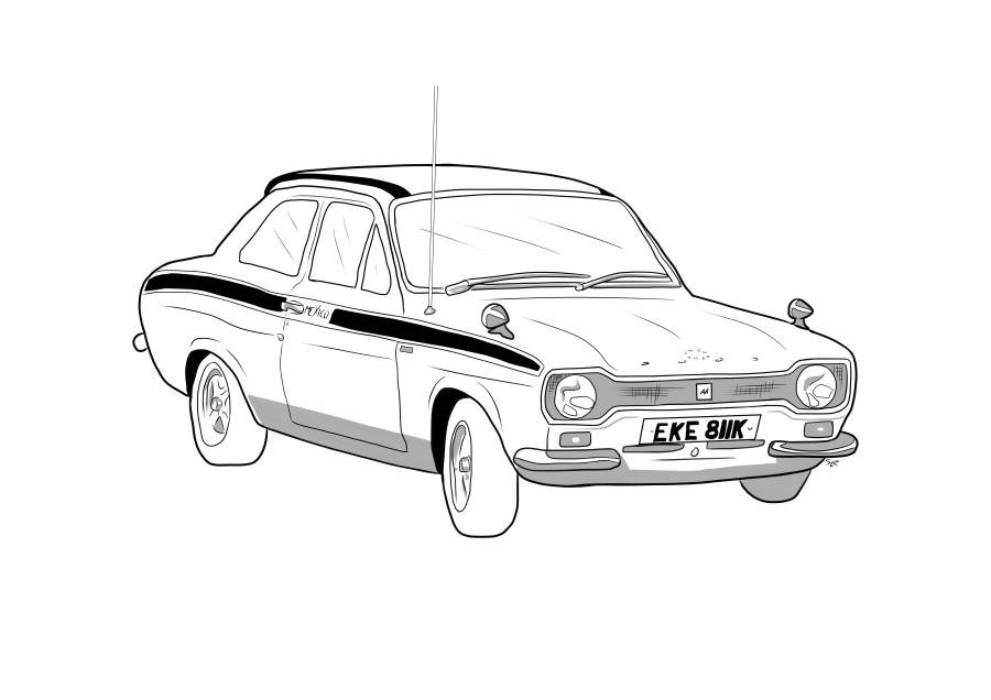 Drawing of EKE811K