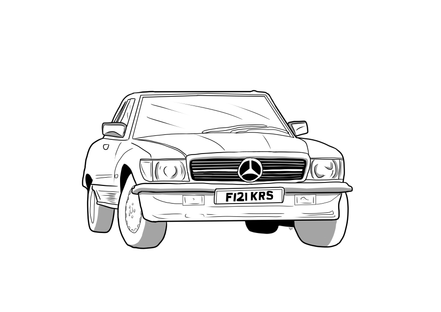 Drawing of F121KRS