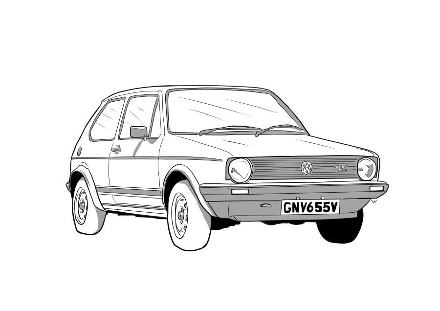 Drawing of GNV655V