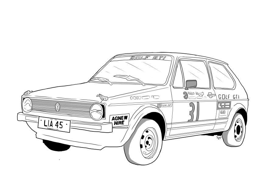 Drawing of LIA45