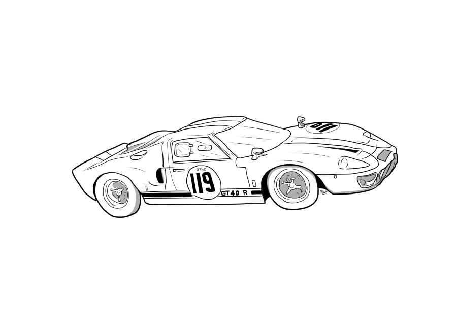 Drawing of M40GTR