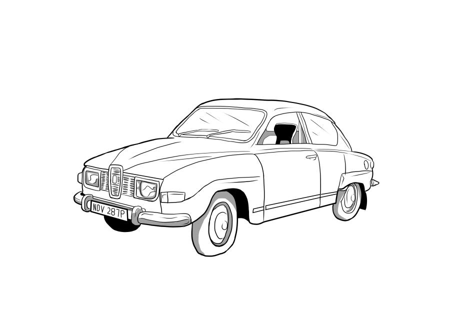 Drawing of NDV287P