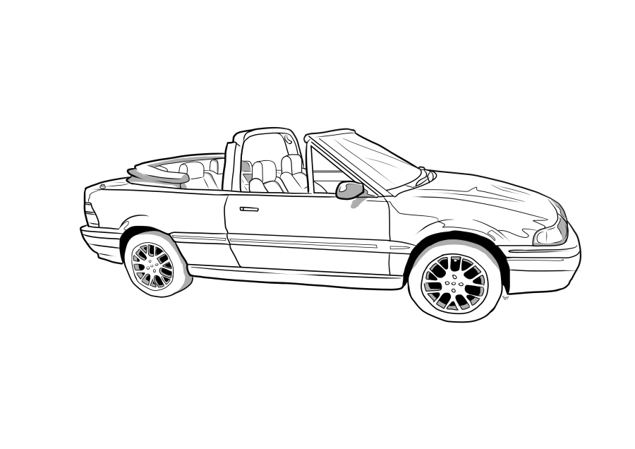 Drawing of P460FJB