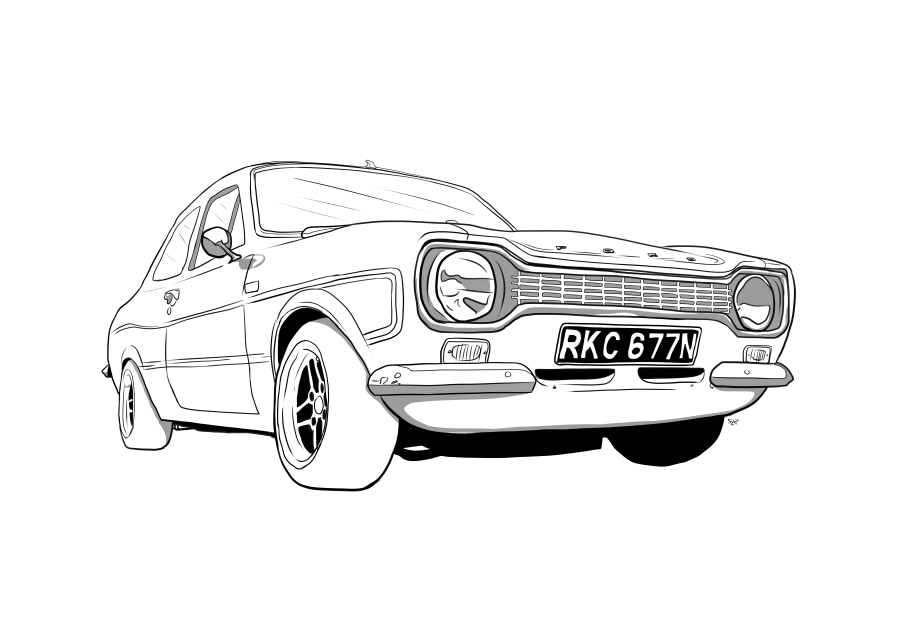 Drawing of RKC677N