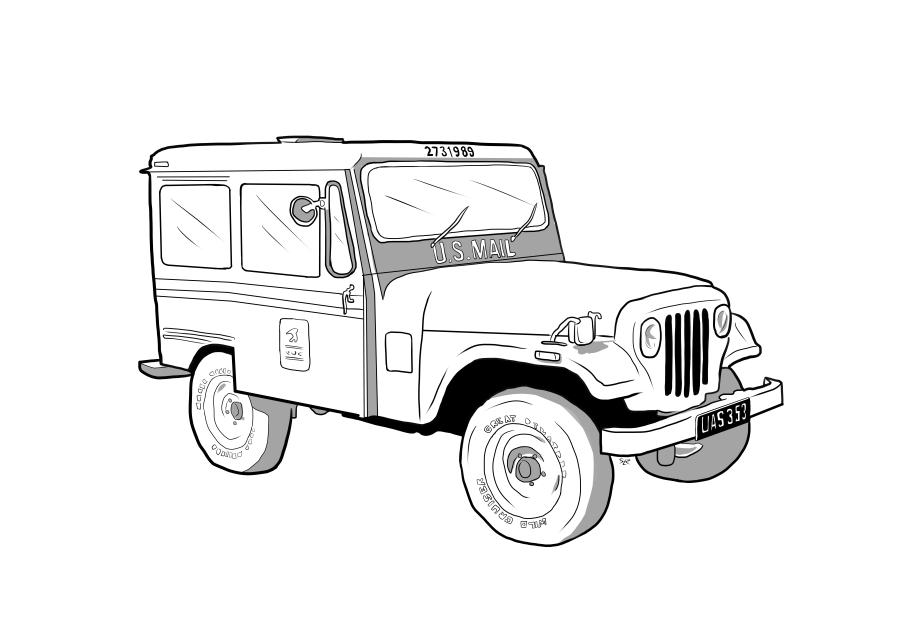 Drawing of UAS353