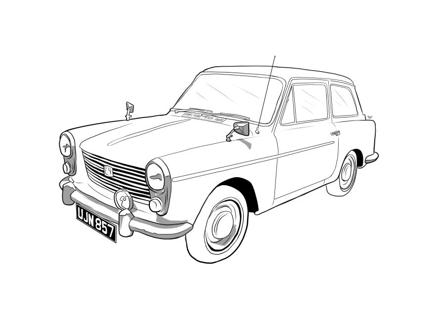 Drawing of UJN857