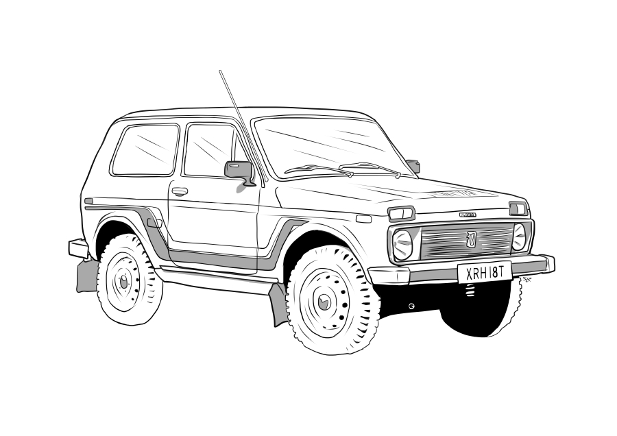 Drawing of XRH18T