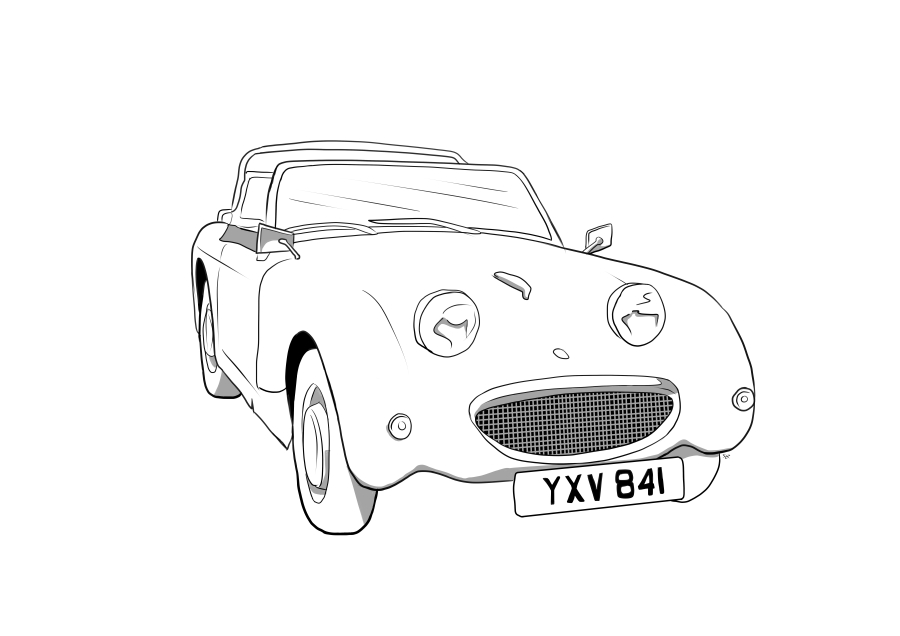 Drawing of YXV841