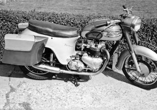 Triumph T110 Tiger, 260NMF