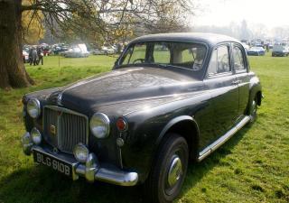 Rover P4, BLG610B