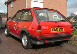 Ford Fiesta, E860UOV