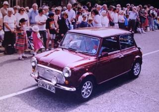 Austin Mini, G369AEH