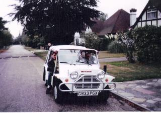 Austin Mini, G933PGX