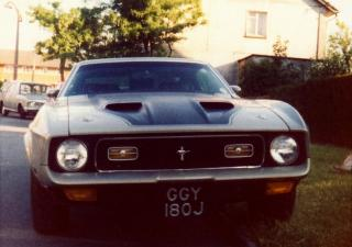 Ford Mustang, GGY180J