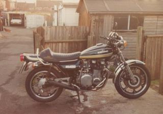 Kawasaki Z1/KZ900, JTV648N