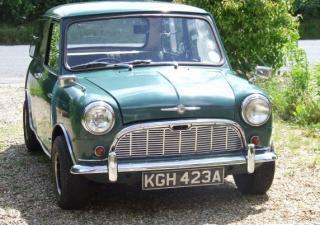 Austin Mini, KGH423A