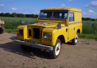 Land Rover 88, KYM635P