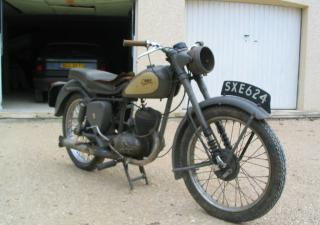BSA D3 Bantam Major, SXE624