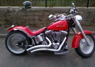 Harley Davidson Fat Boy, W461BOT