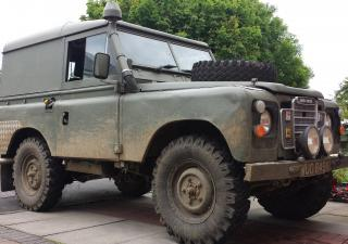 Land Rover 88, WUO849K