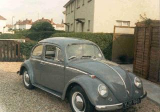Volkswagen Beetle, YJY988