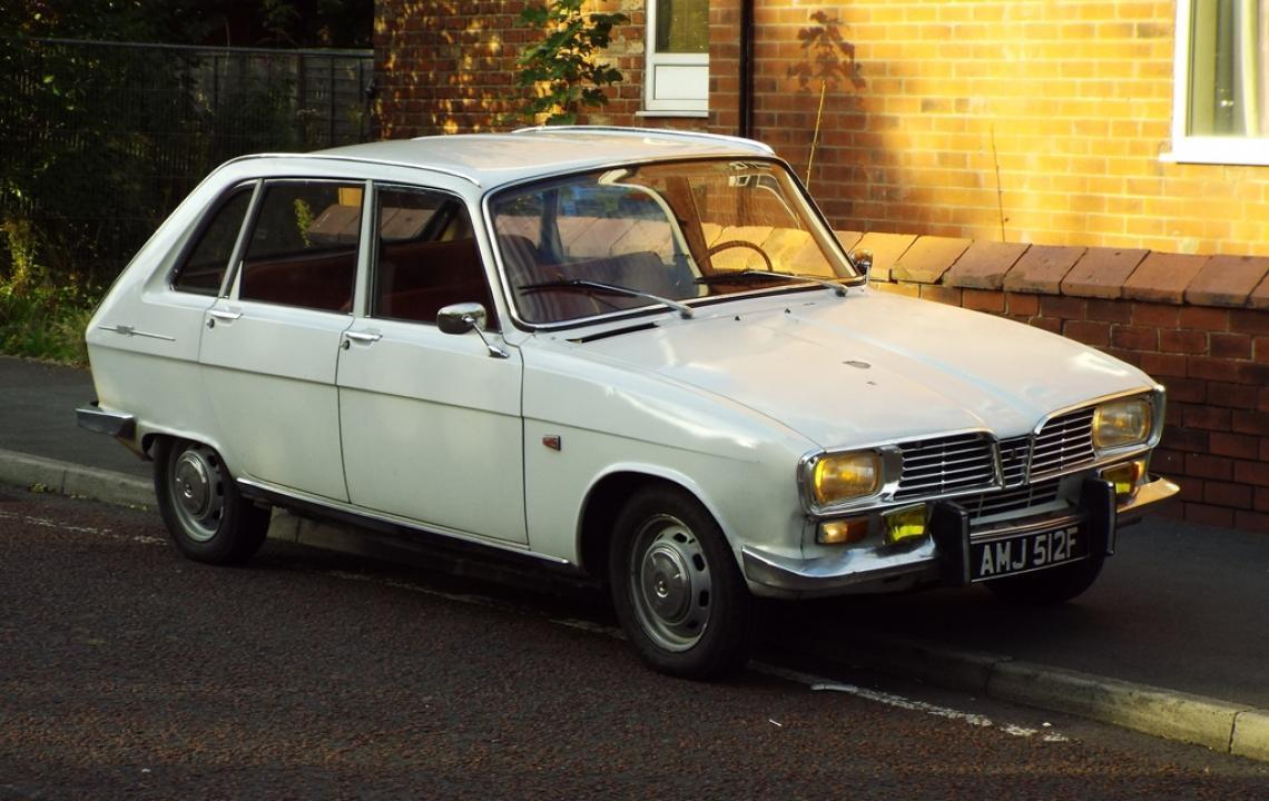 Renault 16, AMJ512F