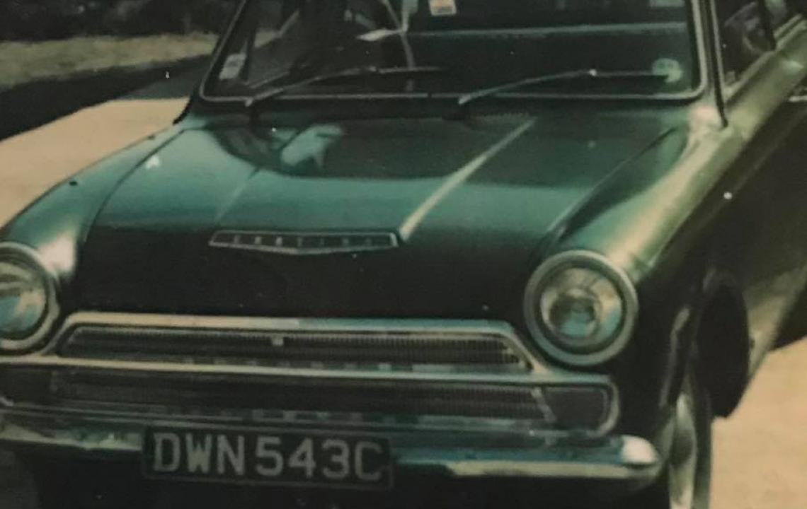Ford Cortina, DWN543C