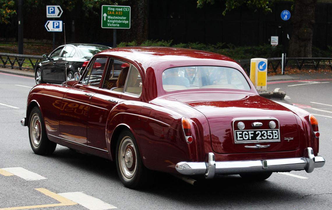 Rolls-Royce Silver Cloud, EGF235B