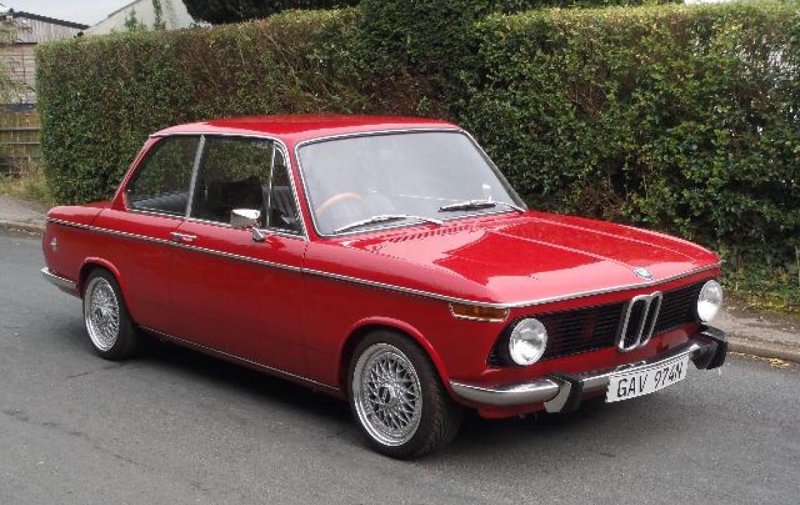 BMW 1602, GAV974N