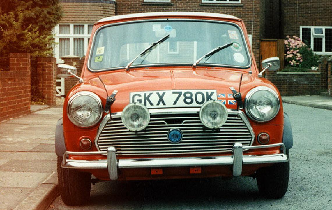 Austin Mini, GKX780K