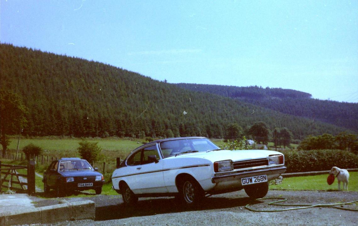 Ford Capri, GUW268N